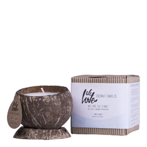 Vela Natural Ecológica Arctic White We Love The Planet