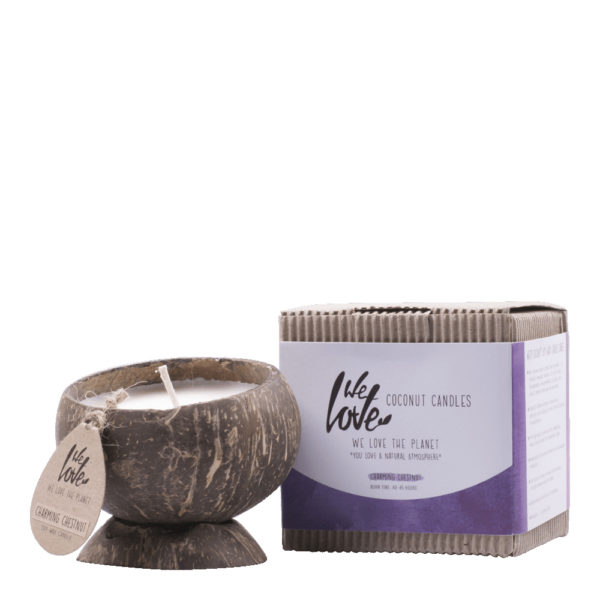 Vela Natural Ecológica Charming Chestnut We Love The Planet