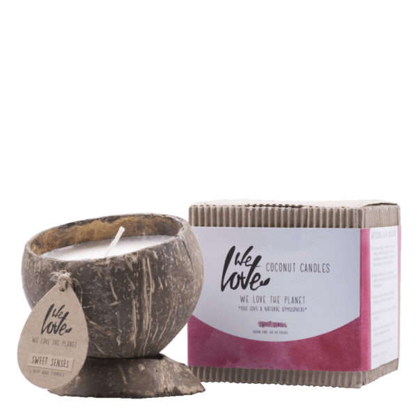 Vela Natural Ecológica Sweet Senses We Love The Planet