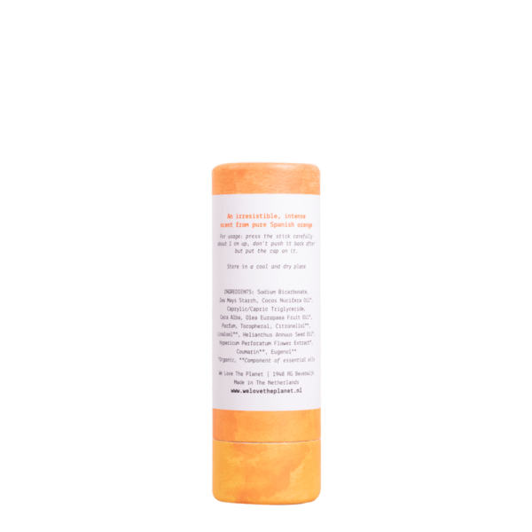 Comprar Desodorante en barra Natural We Love The Planet Naranja Orgánico