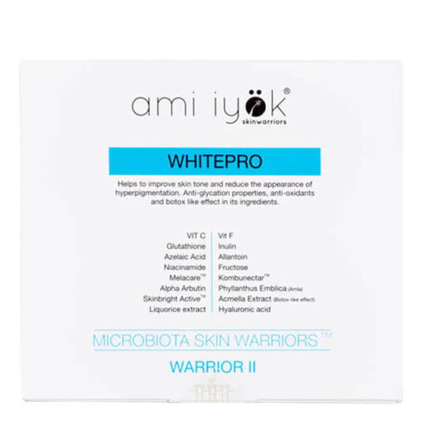 Ampollas Antimanchas Ami Iyök Warrior II Whitepro