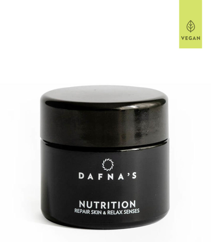 Night Treatment NUTRITION Repair Skin & Relax Senses Dafna's. Crema aromaterapéutica de uso nocturno.