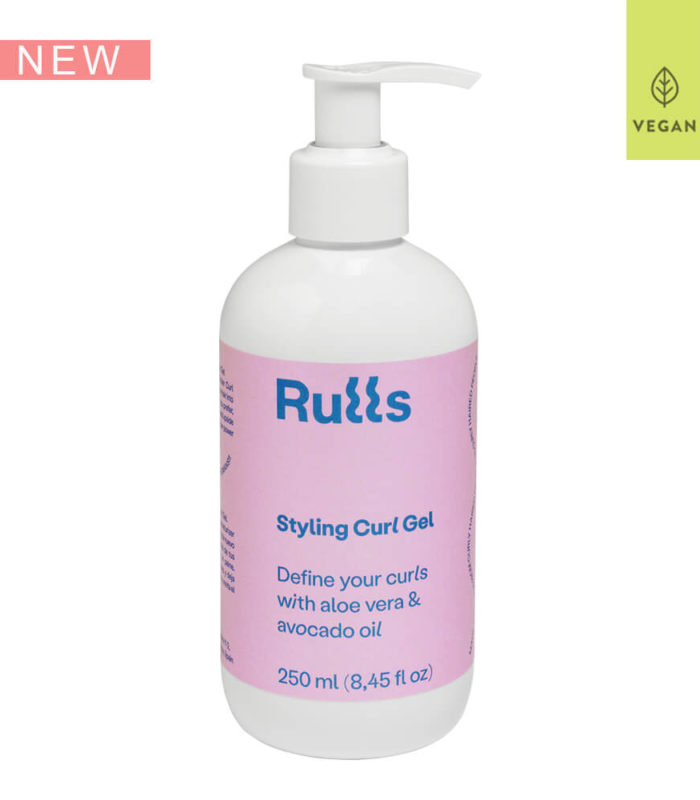 Styling Curl Gel Rulls - Define los rizos de manera natural